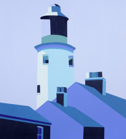 Blue Lighthouse Southwold